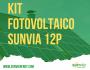Kit Sunvia 12P Trifásico
