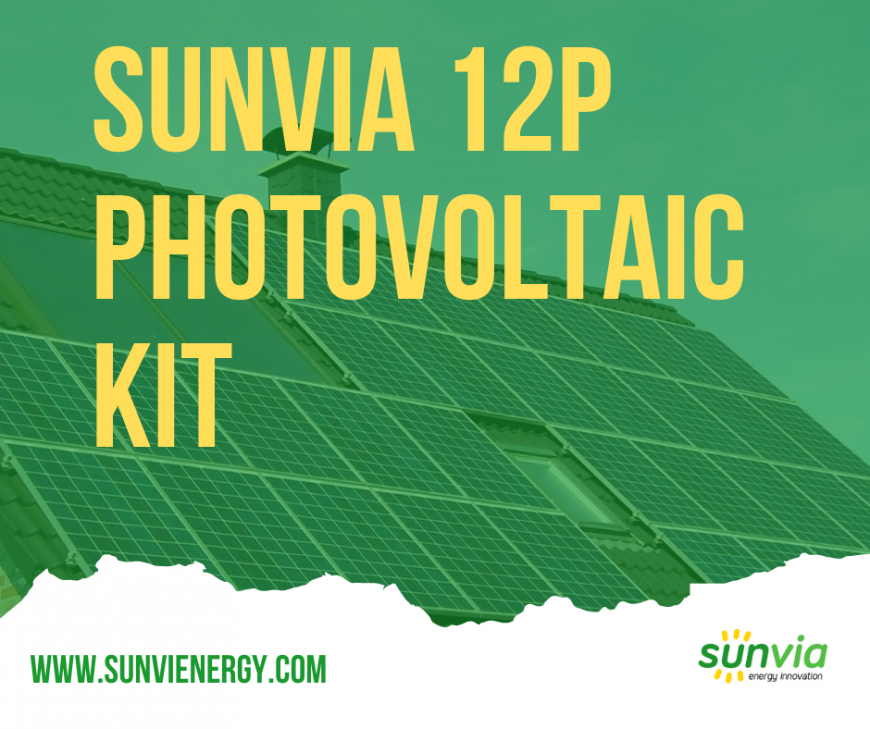 Sunvia 12P Triple-phase Kit
