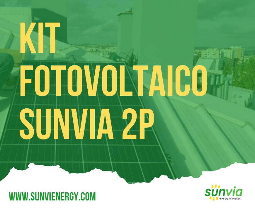Kit Sunvia 2P Monofásico