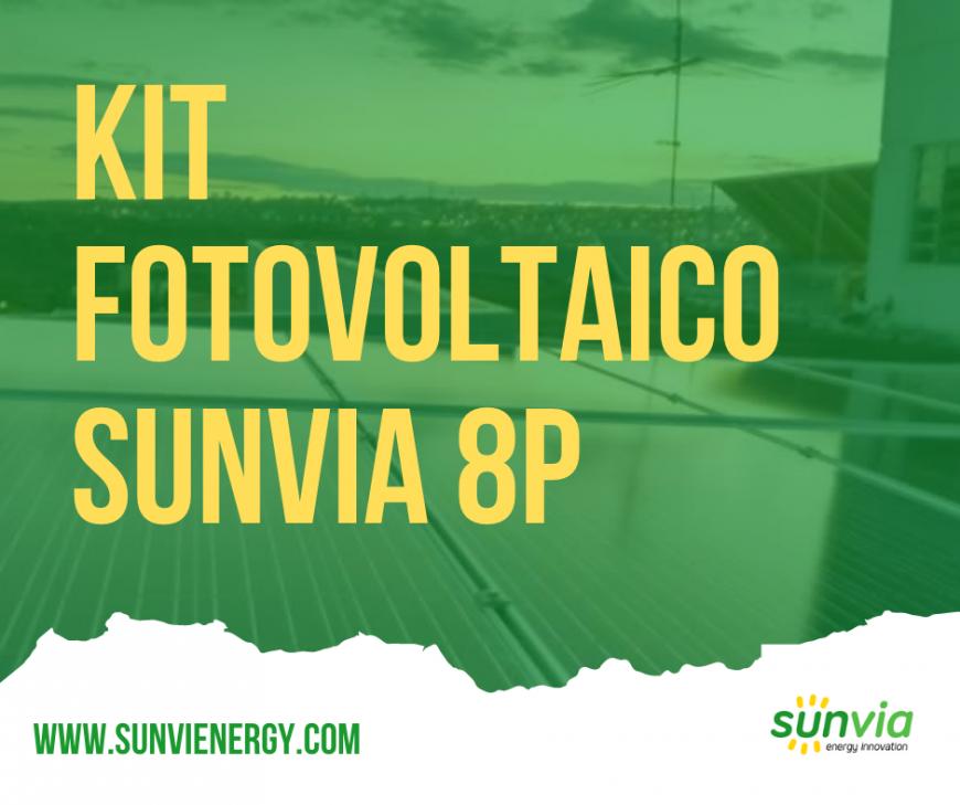 Kit Sunvia 8P Trifásico