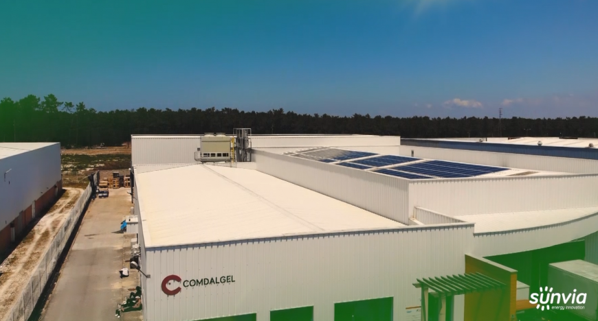 Comdalgel – Self-consumption Photovoltaic System